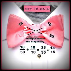 By The Numbers: combining fractions- 1510 with the bow tie math method.