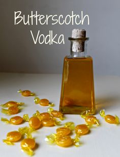 How to Make Butterscotch Vodka (it's kinda a drink, right? Definitely adult only though!)