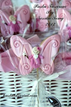 BUTTERFLY COOKIES - BIRTHDAY CEYLIN | Flickr - Photo Sharing!