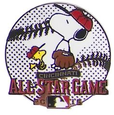Classic Pins - 2015 MLB All-Star Game Snoopy #GETYOURPIN! #MLB #ALLSTARS