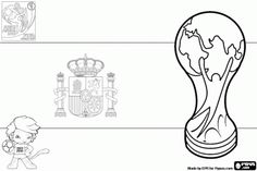 soccer world cup coloring pages - photo#25