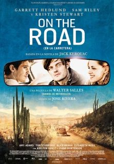 Cartel de 'On the road'
