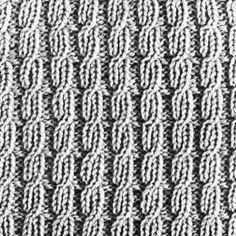 Knitting Pattern Square No. 31, Volume 34 | Purple Kitty
