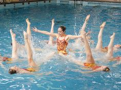 UK-based synchronised swimmers for hire. Synchronized Swimming, Swim Team, Swimmers, Under The Sea, Corporate Events, Seaside, Dancer, Graduation, Ocean