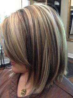 blonde highlights on dark hair | 11 Bombshell Blonde Highlights For Dark Hair - Best Hair Color Ideas by Makeup Tutorials at http://makeuptutorials.com/11-bombshell-blonde-highlights-dark-hair/