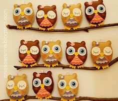 Love these little owls....