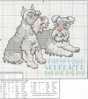 Gallery.ru / Фото #87 - собаки, схемы вышивок из интернета - poodel Cross Stitch Art, Cross Stitch Alphabet, Cross Stitch Animals, Cross Stitch Designs, Cross Stitching, Cross Stitch Embroidery, Cross Stitch Patterns, Dog Crafts, Knitting Charts