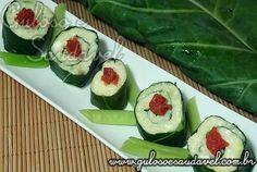 Enrolado de Batata Estilo Sushi » Acompanhamentos, Receitas Saudáveis » Guloso e Saudável