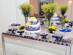 Festa azul e amarelo: delicinhas e decoração | Blog da Michelle Mayrink