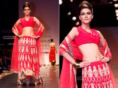 Bridal by Anita Dongre. Her creation has now much more evolved than this. Description by Mahua Roy Chowdhury