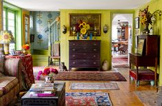 Rikki Snyder Photography   Blog   Photographing Crafting a Colorful Home