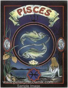 Pisces, Astrology, Horrorscope, Pisces Artist Peter Pracownik