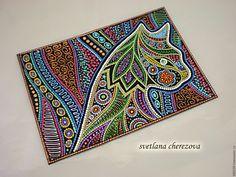 Новости Dot Art Painting, Stone Painting, Mandala Art, Aboriginal Dot Art, Painted Rocks, Hand Painted, Leather Jewelry Making, Pointillism, Bottle Painting