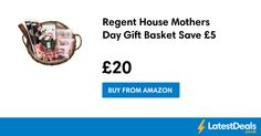 Regent House Mothers Day Gift Basket Save £5, £20 at Amazon