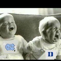 UNC vs DUKE my family LOVE UNC all the way