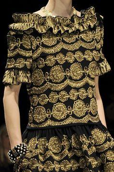 Moschino at Milan Fall 2012 (Details)