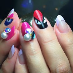 #キャプラスネイル#ネイル#ジェルネイル#ジェル#ジェルアート#ペイント#gelnail#gelnails#gel#caplusnail#paragel#nail#nails#nailart#fendimonster #フェンディモンスター#モンスターネイル