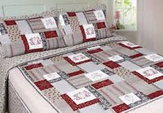 Image result for gray and beige and white patchwork quilts