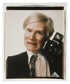 Warhol With The Polaroid 600