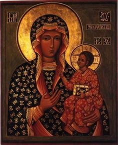 Theotokos of Czestochowa (The Guide or Indicator of the Path)-St. Luke-Yasna Gora, Poland