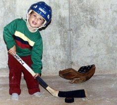 Baby Sidney Crosby