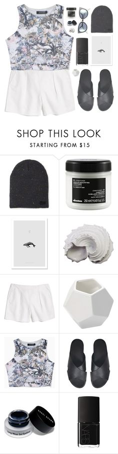 """Don't stare at me!"" by pantelle ❤ liked on Polyvore featuring Neff, Davines, Urban Trends Collection, Madewell, DwellStudio, Bobbi Brown Cosmetics, NARS Cosmetics and Fendi"