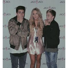 Sophia Mitchell with Jack and Jack
