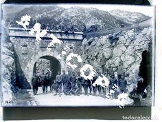 Fotografía antigua: 3 negativos de cristal (15 x 10 cm.) del Coll de Ladrones, Canfranc, Huesca, principios del XX. - Foto 2 - 78937721