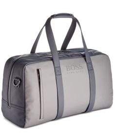 c374e8e13c70 Hugo Boss Men s Hyper Bi-Color Duffel Bag - Blue