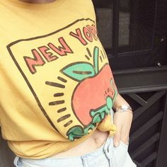 "urjustamyth: "" my vintage keith haring shirt finally came in i am so in love """