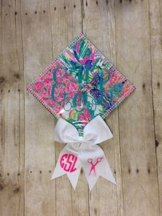 Cosmetology Graduation Cap! Made with the help of my lovely mother!:)