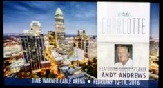 Next stop Charlotte with guest speaker Andy Andrews