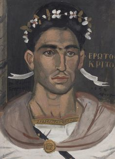 Tsarouchis painting fetches best price at Bonhams Greek Sale Guy Drawing, Painting & Drawing, Drawing Faces, Drawings, Greece Painting, Contemporary Decorative Art, Queer Art, Digital Museum, Caravaggio