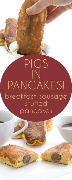 Low Carb Breakfast Pigs in A Blanket. Breakfast sausage stuffed grain-free…
