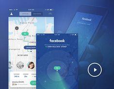 Concept App - Facebook: Let's meet up!