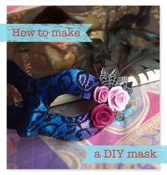 Confessions of a Chronic Crafter: Trash to Treasure DIY: How to make a masquerade ma...