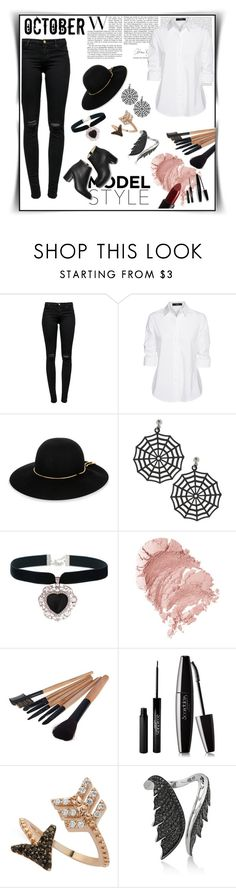 """Model style"" by aumnea ❤ liked on Polyvore featuring J Brand, Oris, Steffen Schraut, Lanvin, Rock 'N Rose, NARS Cosmetics, Nanacoco, Paul Andrew, Bee Goddess and Stephen Webster"