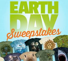 The Mountain's Earth Day Giveaway!  Love these shirts, buy them for myself and family. Soft and tagless.