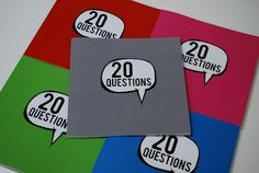 20 Questions : The New Birthday Interview Book for Kids