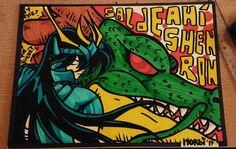 Lo bueno de conservar los crudos sin pintar es que los scaneas y los podes pintar un toque mas piola.. . . . . . . . . . . . . . .. . . . ... .. . .. . . . . . . . . . . . . . . . . . . #shenlong #shenron #drawing #dragonballz #dragonball #dragon #saintseiya #shiryu #anime #manga #fanart #mashup #markers #kurecolor #kuretake