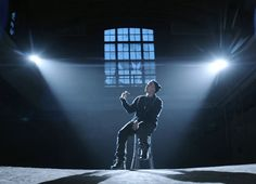 Eminem - Marshall Mathers - Guts Over Fear video still of the most amazing man to ever live.  Thank you, God, for this artist, this man - my love.