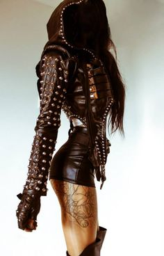 toxic vision 2013 oct oi love the look Dark Fashion, Gothic Fashion, Latex Fashion, Steampunk Fashion, Emo Fashion, Junior Fashion, Sexy Outfits, Cool Outfits, Fashion Moda