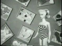 9 maart 1959 – De eerste Barbie pop maakt haar entree op de American International Toy Fair in New York.