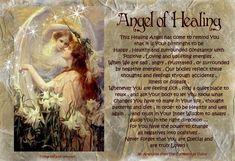 angel blessings: ANGEL OF HEALING