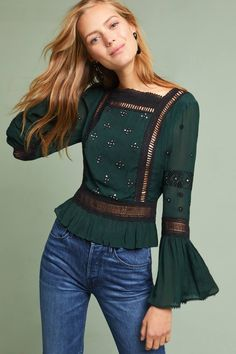Shop the Victoria Bell-Sleeve Blouse and more Anthropologie at Anthropologie today. Read customer reviews, discover product details and more.