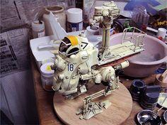 Unknown model (Maschinen Krieger ZbV3000) by Jpl3k - Jipple28, via Flickr Ma.k
