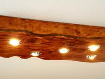 Design LED Holz Lampe Aus Europaletten Bretter