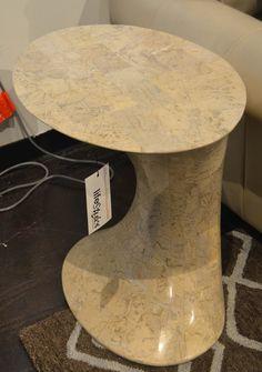 Faux marble side table www.lifestylescomo.com