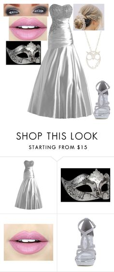 """Athena's Daughter at a Masquerade"" by loney5400 ❤ liked on Polyvore featuring Masquerade, Fiebiger and Nadri"