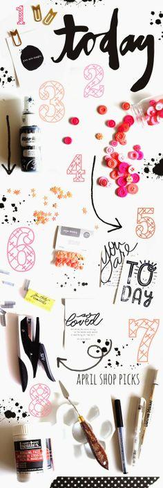 shanna noel: April Shop Picks
